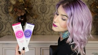 Purple Lilac Ombre Hair, Revlon Nutri Color Review+Tutorial