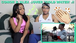 Couple Reacts : Conor Maynard Covers Major Lazer 'Cold Water' Reaction!!