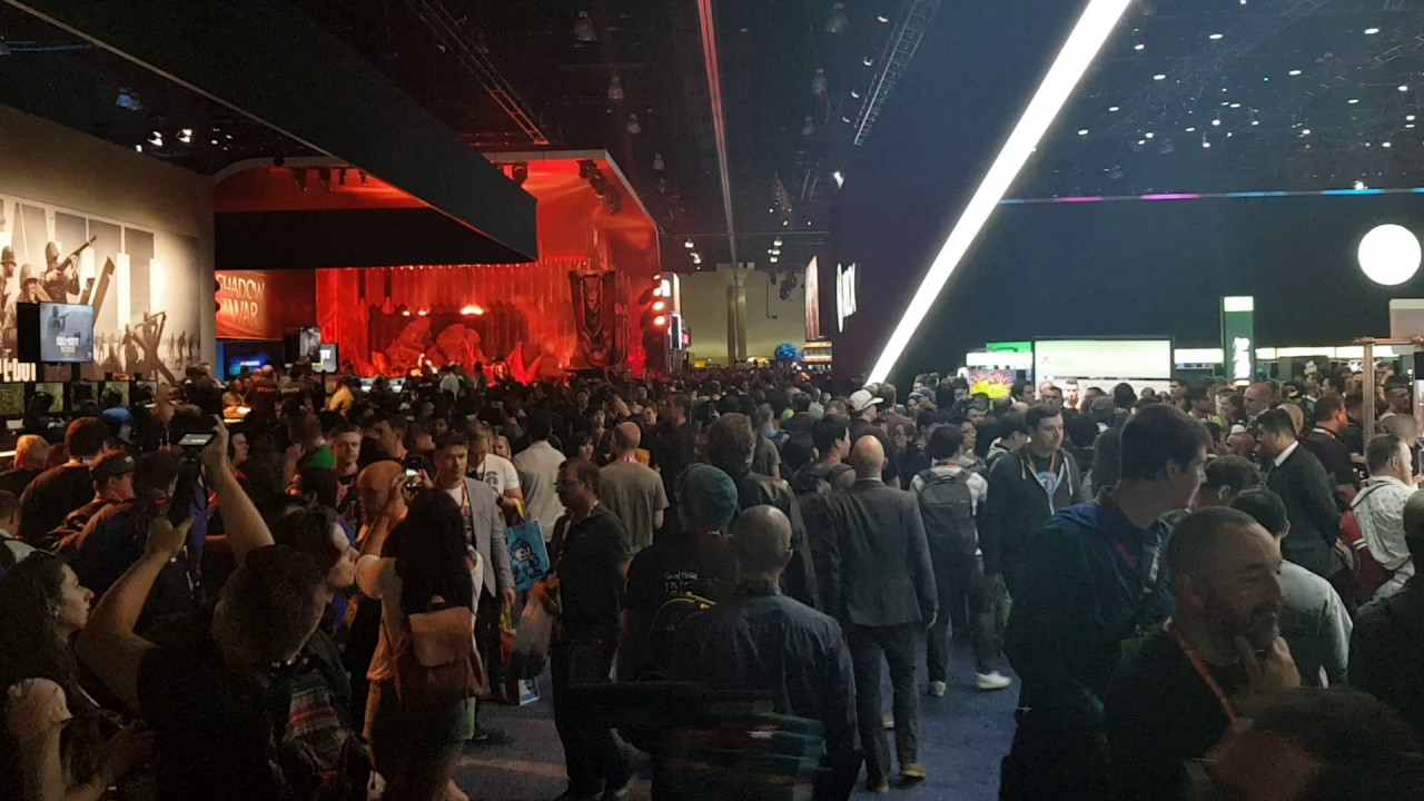 The Crowds At E3 This Year Are Kinda Big