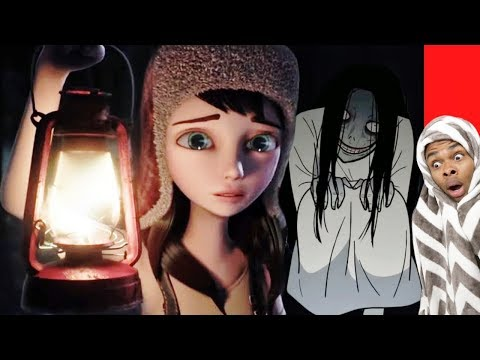 Reacting To True Story Scary Animations Part 12 (Do Not Watch Before Bed)