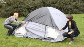 Camping Check 78909 Iglu-Doppeldachzelt Aufbauanleitung
