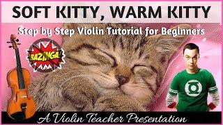 Beginner Violin | Soft Kitty, Warm Kitty | Big Bang Theory