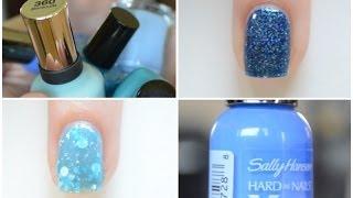 Blue Nail Polish Favorites