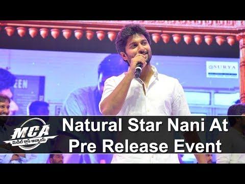 Nani at MCA Pre Release Event