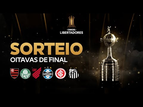 SORTEIO DA LIBERTA DEFINIDO! Veja os duelos de Fla, Inter, Grêmio, Santos, Palmeiras e Athletico.
