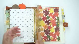 Fall Planner Set Up with Home With Tanya