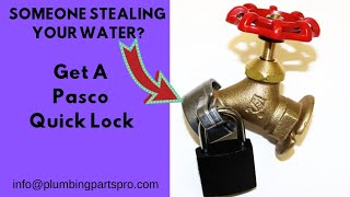 HOW TO LOCK YOUR HOSE FAUCET
