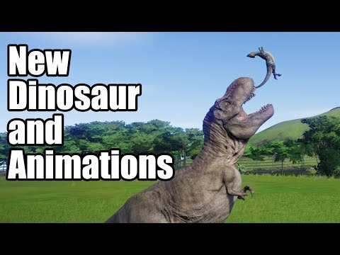 Homalocephale New Death Animations From Carnivores - Jurassic World Evolution