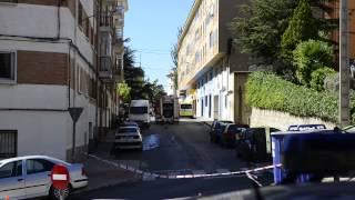 preview picture of video 'Explosion bomba guerra civil Teruel 18 septiembre de 2013'