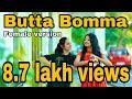Butta Bomma - Tamil female version - Nalini vittobane | Tajmeel sherif | Darshu