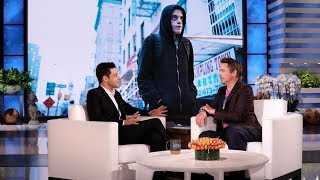 Rami Malek Thought He Was Being Pranked by a Fake Robert Downey Jr.