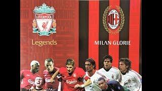UK. FOOTBALL LEGENDS 2019: LIVERPOOL vs AC MILAN