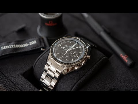 Omega Speedmaster Professional Moonwatch Unboxing