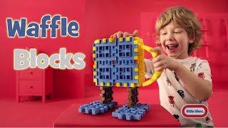 Konstravimo kaladėlės - gaisrinė 89 vnt | Waffle Blocks Fire and Rescue | Little Tikes