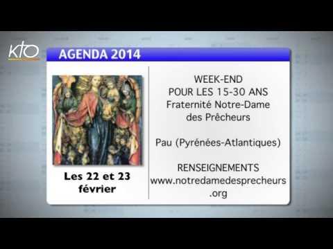 Agenda du 17 février 2014