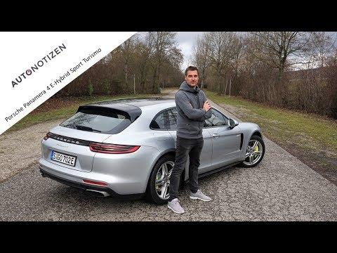 Porsche Panamera 4 E-Hybrid Sport Turismo Test / Review