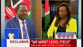 Raila Odinga: We will participate in the elections but under certain conditions