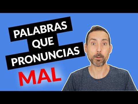 ¿Sabes Pronunciar Bien Estas Palabras En Español?
