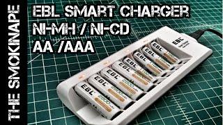 EBL AA/AAA Smart Battery Charger  Ni-MH / Ni-Cd - TheSmokinApe