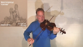 "Unaccompanied Violin Improvisation #8 - ""Country"""