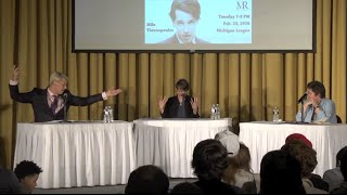Milo Yiannopoulos vs. Julie Bindel at the University of Michigan