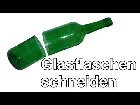 Glasflaschen schneiden