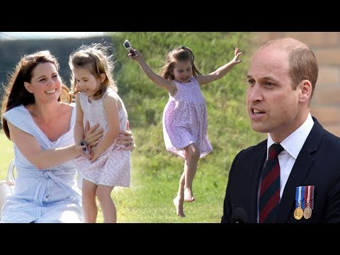 William reveals: Princess Charlotte is already 'obsessed' with fashion aged three