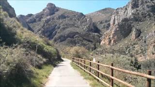 preview picture of video 'Vía verde del Cidacos Tramo Arnedo Arnedillo'