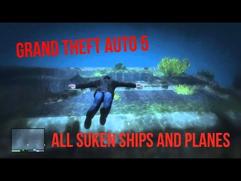 GTA V GTA 5 Online Rare Vehicles Episode 1 Submarine Spawn Location