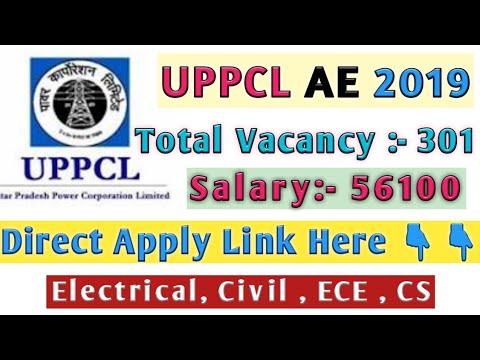 UPPCL AE Vacancy 2019    UPPCL  VACANCY 2019