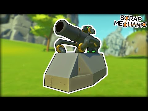 Tanks so Epic They Must be From The Future! (Scrap Mechanic Gameplay)