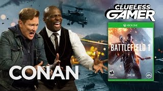 "Clueless Gamer: ""Battlefield 1"" With Terry Crews - CONAN on TBS"