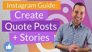 Instagram Post & Story Templates: How to Design Instagram Images in Canva For Beginners