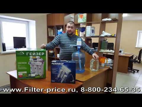 Что выгодней  фильтр или покупать воду