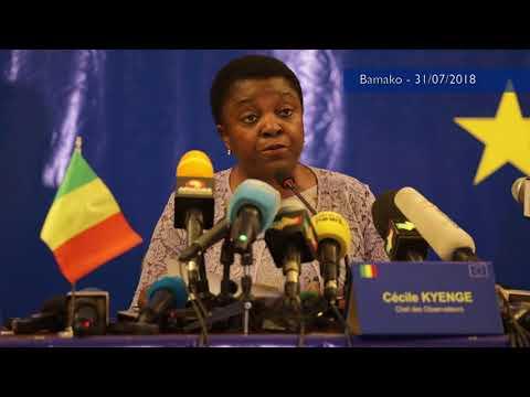 Conférence de presse de la Déclaration préliminaire - Bamako -31 juillet