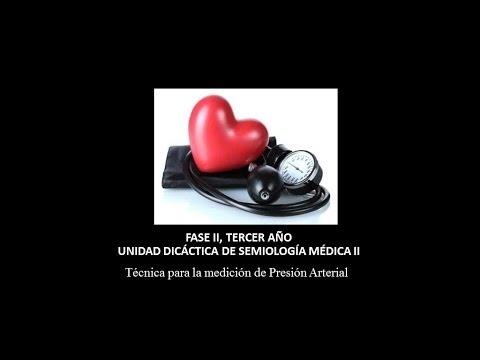 La presión arterial 40 60