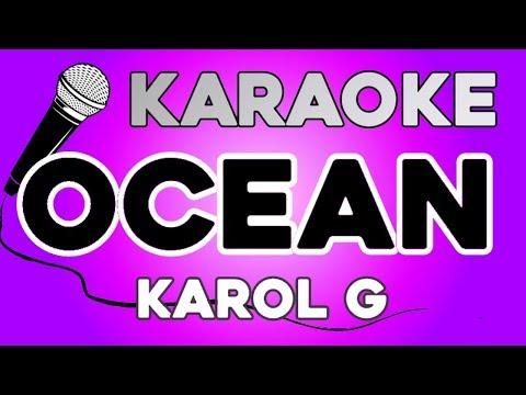 Karol G - Ocean KARAOKE