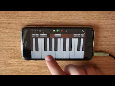 Ed Sheeran - Shape Of You On IPhone (GarageBand)