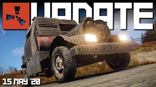 Driving the new Rust cars! (all you need to know) | Rust update 15th May 2020 update