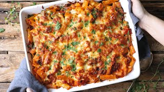 Chicken Bacon Pasta Bake - a reader and family favourite!