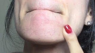 HOW TO THREAD YOUR OWN UPPER LIP AND CHIN FROM HOME!!