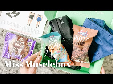 Miss Musclebox Unboxing May 2021
