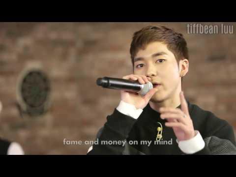 [Heyo TV] Lend Me Your Shoulder Live - NU'EST w/Lyrics