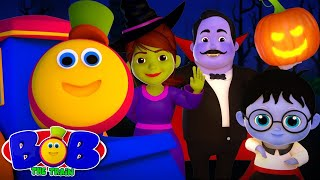 Halloween Beat Song | Bob The Train Cartoons For Kids | Nursery Rhymes For Kids