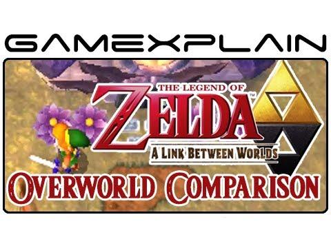 Zelda: Link To The Past Vs. Zelda: Link Between Worlds