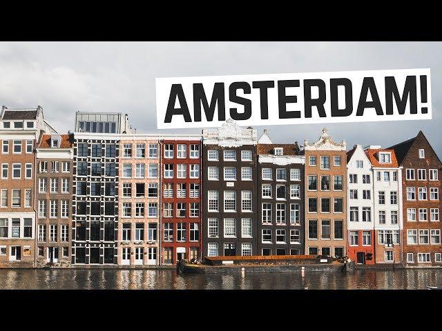 Amsterdam!! - Eating Dutch Bitterballen, Canal Tour +