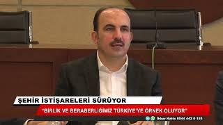 """""""Birlik ve beraberliğimiz Türkiye'ye örnek"""""""