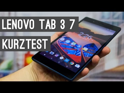 Lenovo Tab3 7 Billig-Tablet im Kurztest
