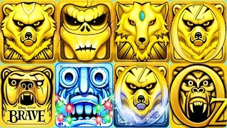 TEMPLE RUN 2 Santa Claus vs TEMPLE RUN BRAVE vs TEMPLE RUN OZ