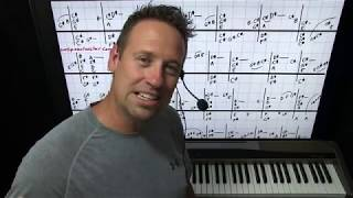 Jazz Chord Progression Piano Lesson
